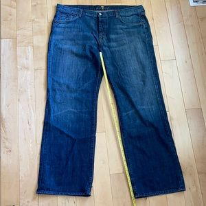 Men's 7 For All Mankind Relaxed Jeans, size 40
